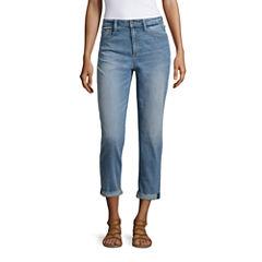Arizona High-Rise Mom Jeans-Juniors
