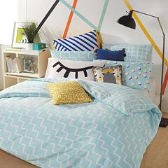 Scribble Zig Zag Comforter Set