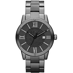 Relic® Payton Mens Gunmetal Watch ZR11998