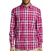 Claiborne® Long-Sleeve Woven Shirt