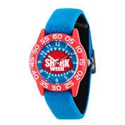 Disney Cinderella Girls Blue Strap Watch-Wds000058