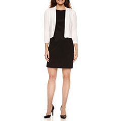 St John's Bay 3/4 Sleeve Shrug with Alyx Sleeveless Sheath
