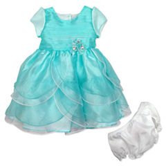 Nanette Baby Sleeveless Empire Waist Dress - Baby Girls