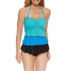 Pure Paradise Bra Sized Tankini Swimsuit Top