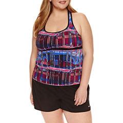 Nike® Tie Dye Tankini Swimsuit Top or Swim Bottoms-Plus