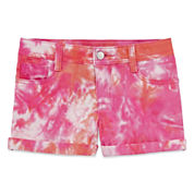 Total Girl Pull-On Shorts Big Kid Girls