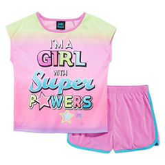 Jelli Fish Kids 2-pc. Pajama Set Girls
