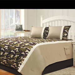 Riverbrook Home Camo 3-pc. Midweight Comforter Set