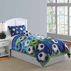 Riverbrook Home Soccer League 4-pc. Midweight Comforter Set