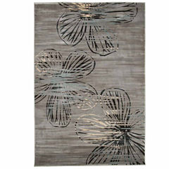 Cambridge Home Modern Floral Rectangular Rugs