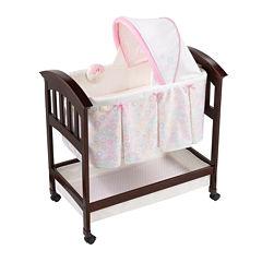 Summer Infant® Classic Comfort Wood Bassinet - Bedtime Blossom