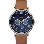 Timex Southview Unisex Brown Strap Watch-Tw2r291009j