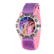 Disney Time Teacher Beauty and the Beast Girls Purple Strap Watch-W002929