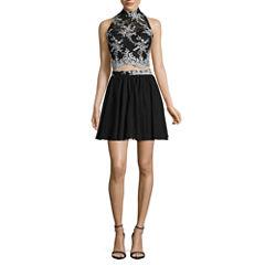 Love Reigns Sleeveless 2-piece Evening Dress - Juniors