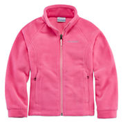 Columbia Sportswear Co. Girls Lightweight Fleece Jacket-Big Kid