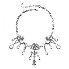 love struck™ Teardrop Crystal Statement Necklace