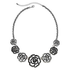 Arizona Open Flower Statement Necklace