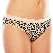 Ambrielle® Seamless High-Cut Panties