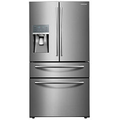 Samsung ENERGY STAR® 28 cu. ft. 4-Door French Door Refrigerator with Food Showcase Design