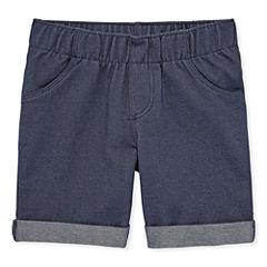 Okie Dokie Denim Bermuda Shorts - Toddler Girls