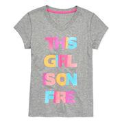 Xersion Graphic T-Shirt-Big Kid Girls