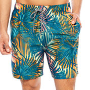 Arizona Palm Leaf Print Volley 6.5