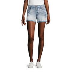 Vanilla Star Midi Shorts-Juniors