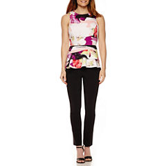 Worthington® Peplum Top or Slim Fit Ankle Pants