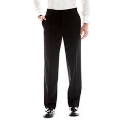 JF J. Ferrar® Flat-Front Tuxedo Pants - Classic