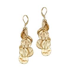 KJL by KENNETH JAY LANE Gold-Tone Coin Drop Earrings