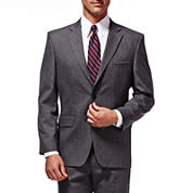 Haggar® Premium Stretch Grey Suit Jacket - Classic Fit