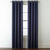 Liz Claiborne® Kathryn Grommet-Top Window Treatments
