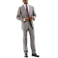 Claiborne® Shimmer Herringbone Stretch Suit Separates