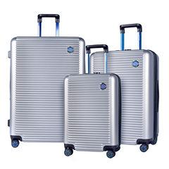 Travelers Club Beijing 3-pc. Luggage Set