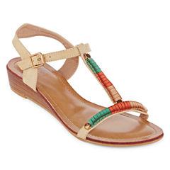 GC Shoes Lavelle Womens Flat Sandals