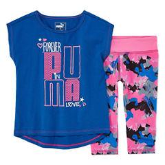 Puma 2-pc. Legging Set-Preschool Girls