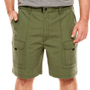 The Foundry Big & Tall Supply Co. Relaxed Fit Cotton Cargo Shorts Big and Tall