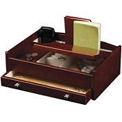 Mele & Co. Davin Mens Wooden Dresser-Top Valet