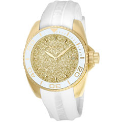 Invicta Womens White Strap Watch-22703