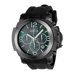 Invicta Coalition Forces Mens Black Strap Watch-22279