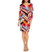 Weslee Rose 3/4 Sleeve Bodycon Dress