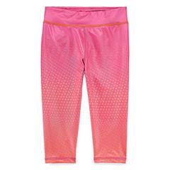 Reebok Knit Capri Leggings - Preschool Girls