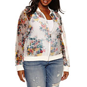 Ashley Nell Tipton for Boutique + Bomber Jacket-Plus