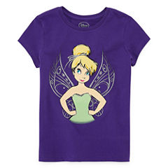 Disney Graphic T-Shirt-Big Kid Girls