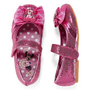 Disney Collection Minnie Mouse Costume Shoes - Girls