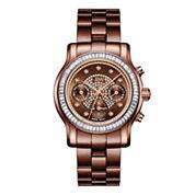 JBW Laurel 0.09 C.T.W Diamond Womens Brown Bracelet Watch-J6330i
