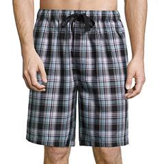Van Heusen Yarn Dyed Woven Pajama Shorts