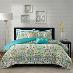Intelligent Design Ellie Medallion Duvet Cover Set
