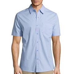 Haggar® Short Sleeve Print Polo
