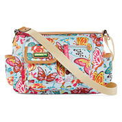 Lily Bloom Libby Mid-Crossbody Pocket Hobo Bag